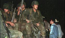 Зверские преступления мексиканских военных