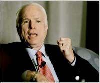 Джон Маккейн выиграл республиканские кокусы в Луизиане