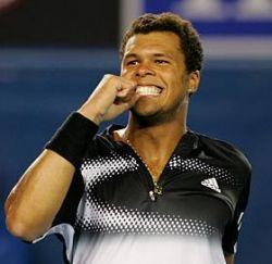 Жо-Уилфрид Тсонга разгромил Рафаэля Надаля и вышел в финал Australian Open