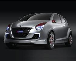 Европейский дебют для Suzuki концепции A-Star в Женеве