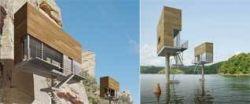 Новое слово в градостроительстве: дом-скворечник