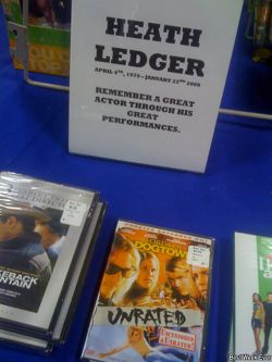 Сеть магазинов Best Buy пытается заработать на смерти Хита Леджера