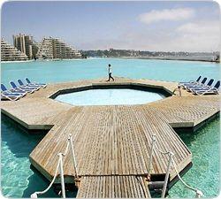 Чилийский эксклюзив: Гигантский бассейн популярного курорта попал в Книгу рекордов