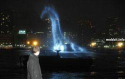В Токийском заливе завелось Лох-Несское чудовище (видео)