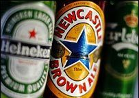 Британскую пивоварню S&N купили Carlsberg и Heineken