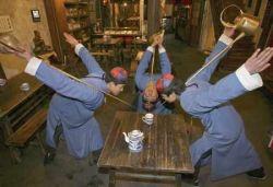 Чайная церемония древней китайской династии Цин (фото)