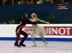 Российские фигуристы стали чемпионами Европы в танцах на льду (видео)