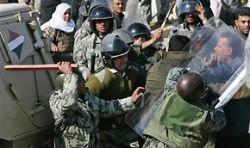 На границе с Египтом начались столкновения