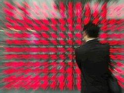 Котировки на Токийской фондовой бирже вновь резко упали