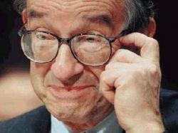 Алан Гринспен не наблюдает признаков рецессии в экономике США