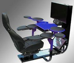 Компьютерные столы V1 – современно, комфортно, дорого (фото)