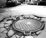 В 2007 году в Санкт-Петербурге пропали 833 крышки от люка