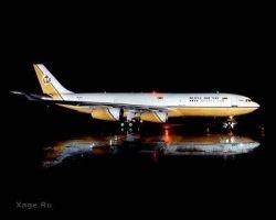 Самолет султана Брунея (фото)