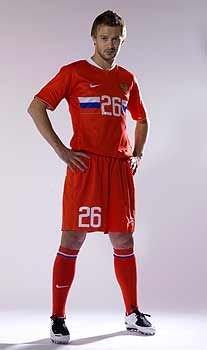 Сборную России по футболу оденут в новую форму