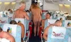 Любители нудизма этим летом смогут начать свой отдых в самолете