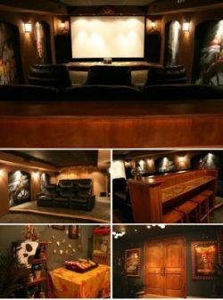 10 самых оригинальных домашних кинотеатров (фото)
