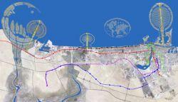 Дубайский метрополитен (фото)