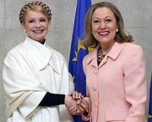 Юлия Тимошенко предложила Евросоюзу строить газопровод в обход России