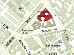 """Вокруг правительственных зданий Латвии создадут 25-метровую \""""мертвую зону\"""""""