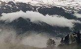 Спасатели прекратили до утра поиск туристов в горах Кубани