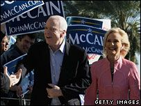 Во Флориде побеждает Джон Маккейн