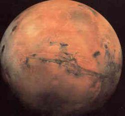 На Марс упадет астероид