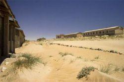 Город-призрак в песках Намибии (фото)