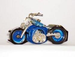 Мотоциклы из часов (фото)
