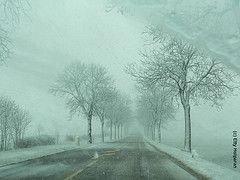 Военно-Грузинская дорога перекрыта из-за снегопада