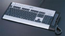 Компания Buffalo придумала клавиатуру со Skype телефоном