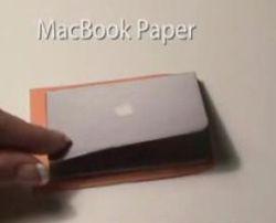 MacBook Paper. Ноутбук, который помещается в конверт (фото)