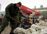 Китайскую армию бросили на войну со снегом
