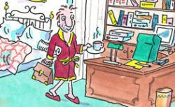 Разрешите удалиться: эффективные советы для работников на дому