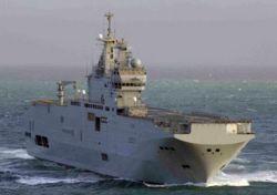 Французские военные моряки перехватили 2,5 тонны кокаина