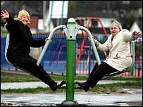 В Манчестере появилась игровая площадка для пенсионеров