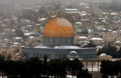 На Ближний Восток пришла настоящая зима (фото)