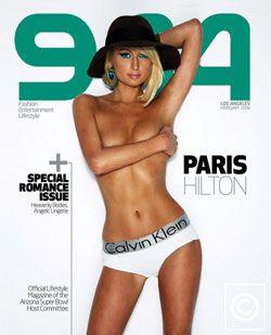 Пэрис Хилтон снова обнажилась для обложки журнала 944 (видео)
