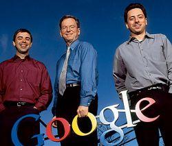 Ларри Пейдж, Сергей Брин и Эрик Шмидт проработают в Google еще 20 лет