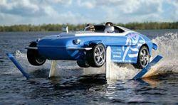 Rinspeed Splash - скоростной автомобиль-амфибия