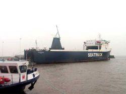 С парома в Ирландском море эвакуировали 14 человек