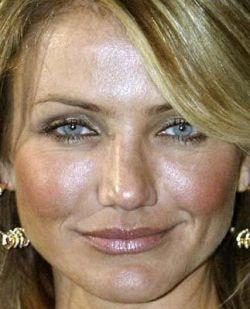 Реальные лица Голливуда: прыщи, пот и неправильно наложенный макияж (фото)