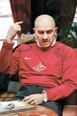 Станислав Черчесов недоволен Егором Титовым и готовит ему замену