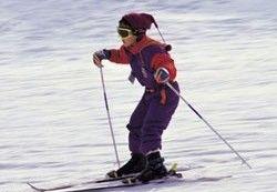 Китайский школьник отправился за 240 км на лыжах домой