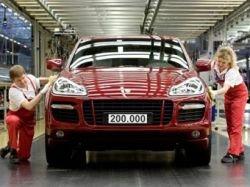Porsche выпустил 200-тысячный Cayenne