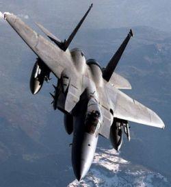 У Гавайских островов в океан упал истребитель F-15 ВВС США
