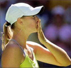 Мария Шарапова выиграла дебютный матч за Россию