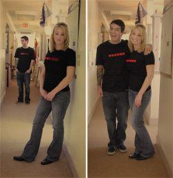 Парные футболки Dynamic Life для влюбленных гиков