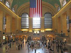 Время остановилось на нью-йоркском вокзале (видео)