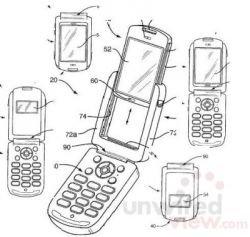 Sony Ericsson патентует телефон-трансформер