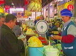 Сорок рынков закроют в Москве до конца 2009 года